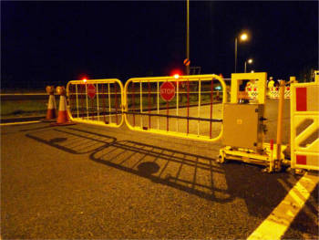 New remote access gate developed to protect highways workers - The